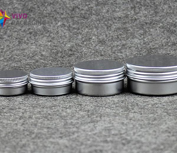 10ml Aluminium Tin and Screw Cap