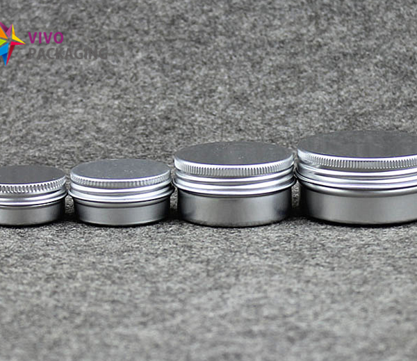 20ml Aluminium Tin and Screw Cap